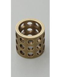 Kelly Wearstler - Metallic Perforated Ring - Lyst
