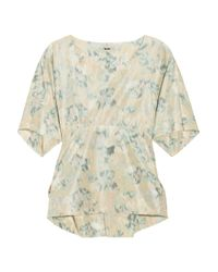 Acne Studios | Multicolor Jody Printed Taffeta Top | Lyst