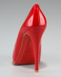 Christian Louboutin - Red Rolando Hidden-platform Pump - Lyst