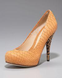 Fendi | Multicolor Superstar Zucca-heel Pump | Lyst