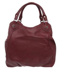 Marc By Marc Jacobs - Brown Burgundy Classic Q Francesca Bag - Lyst