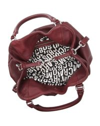 Marc By Marc Jacobs | Brown Burgundy Classic Q Francesca Bag | Lyst
