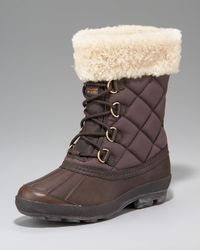 UGG | Brown Newberry Lace-up Boot | Lyst