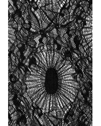 Emanuel Ungaro - Black Crochet Tank Top - Lyst