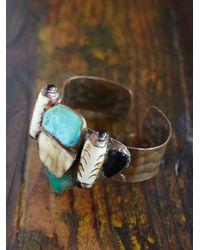 Free People - Multicolor Vintage Cuff Bracelet - Lyst