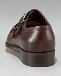 John Lobb - Brown Chapel Double Monk-strap Shoe - Lyst