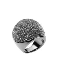 Michael Kors - Metallic Pave Dome Ring - Lyst