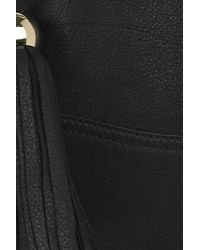 Mulberry - Black Greta Large Leather Bag - Lyst