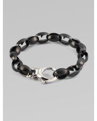 Stephen Webster - Black Thorn Link Bracelet for Men - Lyst