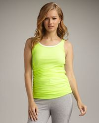 Neiman Marcus | Green Double-layer Tank | Lyst
