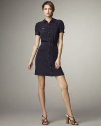 Tory Burch | Blue Gennifer Shirtdress | Lyst