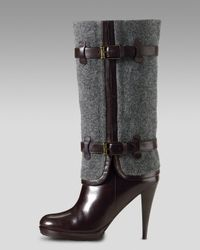 Cole Haan - Gray Air Kennedy Buckle Boot - Lyst