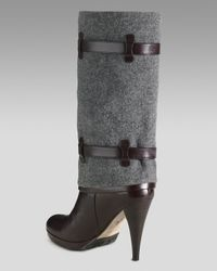 Cole Haan | Gray Air Kennedy Buckle Boot | Lyst