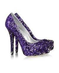 Dolce & Gabbana | Purple 'bellucci' Pumps | Lyst