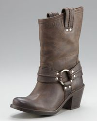 Frye | Brown Carmen Harness Boot | Lyst