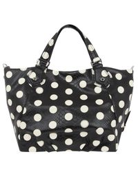 Marc By Marc Jacobs - Black Polkadot Snakeskin Fran Tote Bag - Lyst