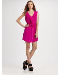 Rebecca Taylor | Pink Shocking Dress | Lyst