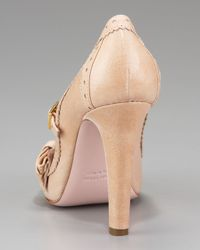 RED Valentino - Natural Vintage Mary Jane Pump - Lyst