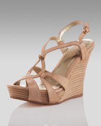 Seychelles | Natural Purr Ring-strap Wedge (cusp Most Loved!) | Lyst