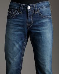 True Religion - Blue Billy Super T Yukon Jeans for Men - Lyst