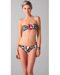 Brette Sandler Swimwear - Black Nikki Bandeau Bikini - Lyst