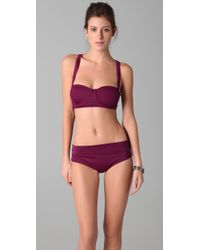 Opening Ceremony | Purple Harness Bikini | Lyst