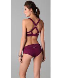 Opening Ceremony - Purple Harness Bikini - Lyst