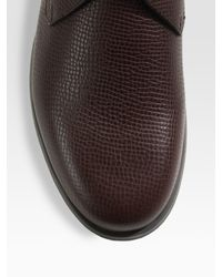 Ferragamo | Brown World Motion Lace Ups for Men | Lyst