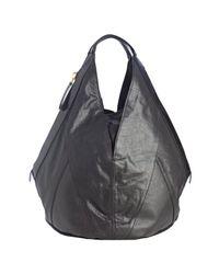Givenchy - Black Textured Calfskin Tinhan Hobo - Lyst