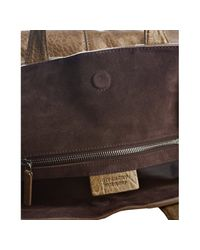 Givenchy - Brown Olive Marble Finish Lambskin Nightingale Shopper - Lyst