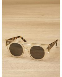 Illesteva | Brown Meyer Sunglasses | Lyst