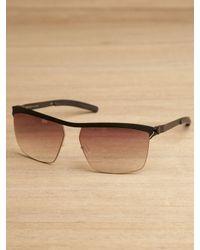 Mykita | Metallic Tiago Sunglasses | Lyst