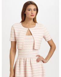 Dior   Pink Flounce Bolero   Lyst