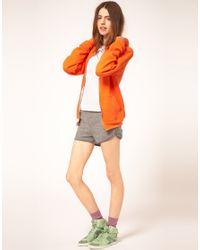 American Apparel - Gray Gym Shorts - Lyst