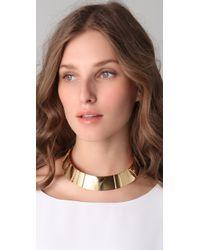 DANNIJO - Metallic Cintia Collar - Lyst