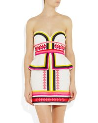 Sass & Bide | Multicolor Pick N Mix Embroidered Strapless Dress | Lyst