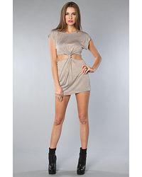 StyleStalker | Brown The Swagger Dress | Lyst