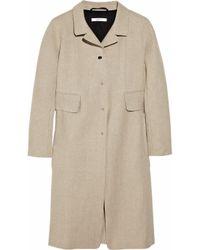 Carven | Natural Linen Coat | Lyst