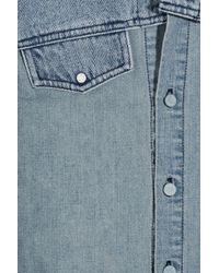 Ksubi - Blue Denim Shirt - Lyst