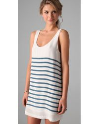 Joie | White Trudy Tank Dress | Lyst