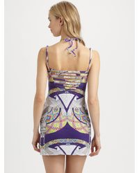Mara Hoffman - Purple Stretch Modal Dress - Lyst