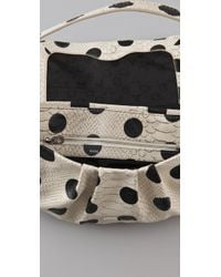 Marc By Marc Jacobs | Natural Dotty Snake Lil Ukita Bag | Lyst
