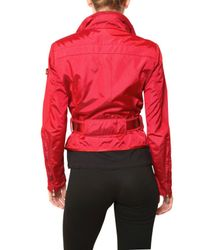 Peuterey - Red Montauk Short Trench Nylon Sport Jacket - Lyst