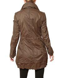 Peuterey | Brown Fox Hill Nylon Parka Trench Coat | Lyst