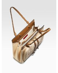 Valentino | Natural Demetra Top Handle Bag | Lyst
