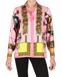 Versace | Multicolor Baroque Print Shirt | Lyst
