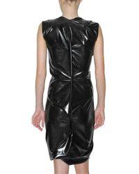 Vivienne Westwood Anglomania - Black Latex Dress - Lyst