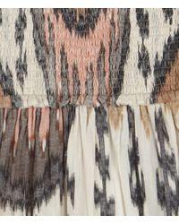 AllSaints | Brown Ikat Dress | Lyst