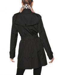 Burberry - Black Buckingham Cotton Gabardine Trench Coat - Lyst