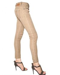 Burberry Brit | Natural Westbourne Washed Stretch Denim Jeans | Lyst